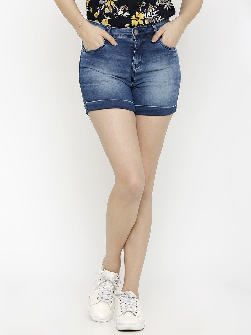 K4041 High-Rise Slim Shorts (6251621154991)