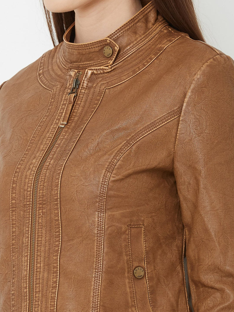 Solid Biker Jacket (6251635736751)