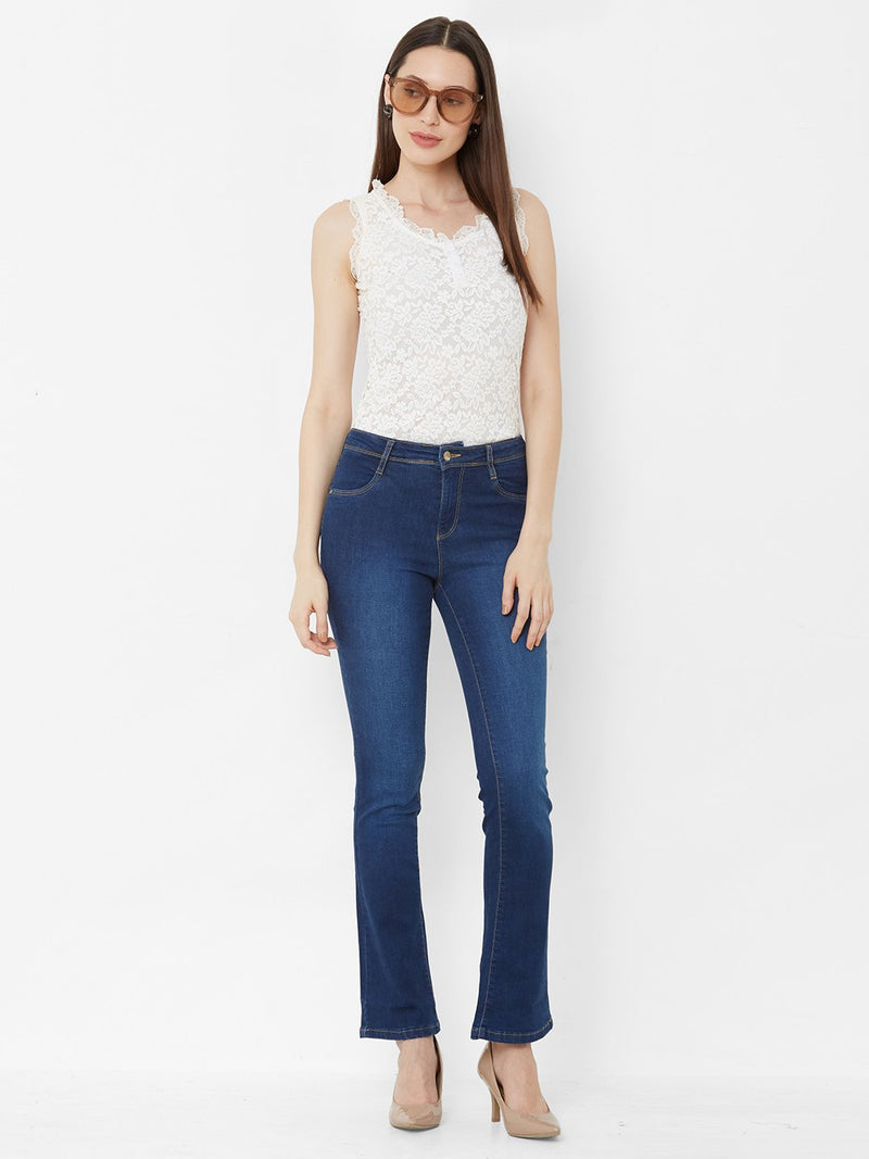 K4095 Mid-Rise Cropped Flared Jeans (6251580489903)