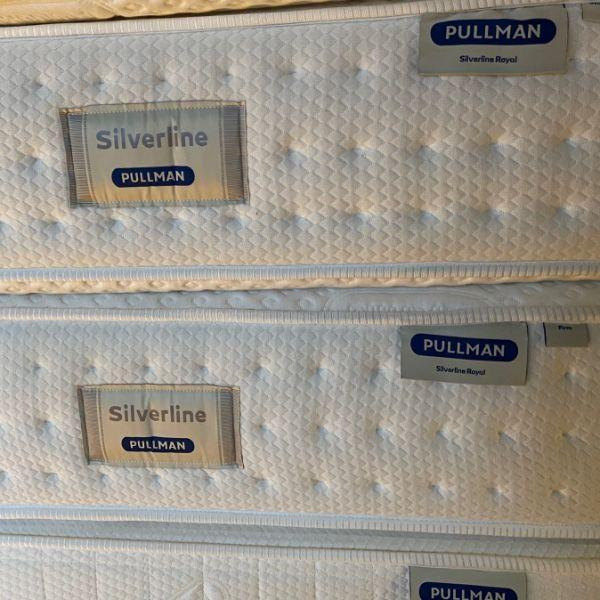 Matras | Pullman | Matras Silverline Royal | 90x210-Showroombed.nl