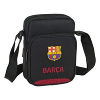 Shoulder Bag F.C. Barcelona Black