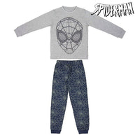 Children's Pyjama Spiderman 74807 Grey Blue (2 Pcs)