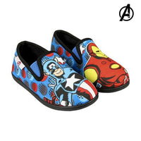 House Slippers The Avengers 74128 Blue