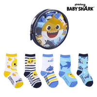 Socks Baby Shark (5 pairs) Multicolour
