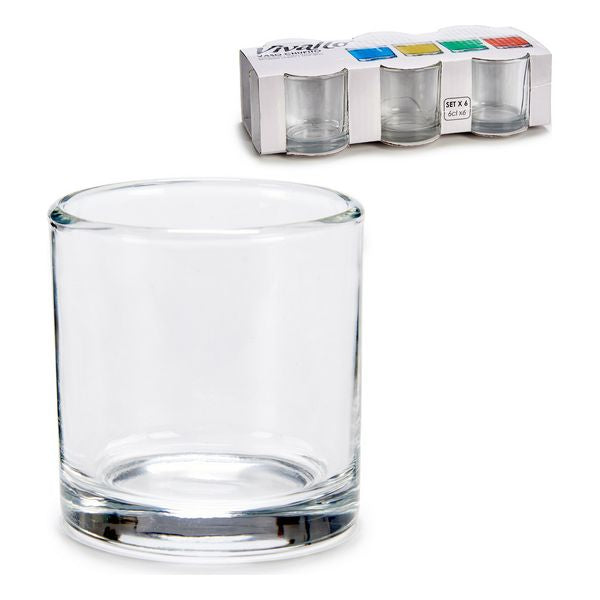 Set of Shot Glasses Glass (6 Pieces) 60 ml