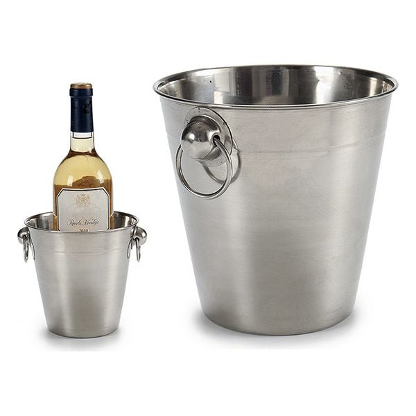 Ice Bucket Steel (14 x 13,5 x 16 cm)