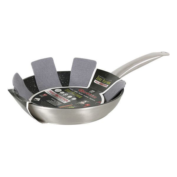 Non-stick frying pan Quttin Toughened aluminium Silver