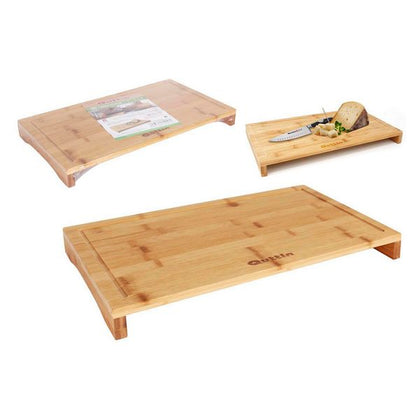 Chopping Board Quttin Bamboo Natural (45 x 25 x 4,2 cm)