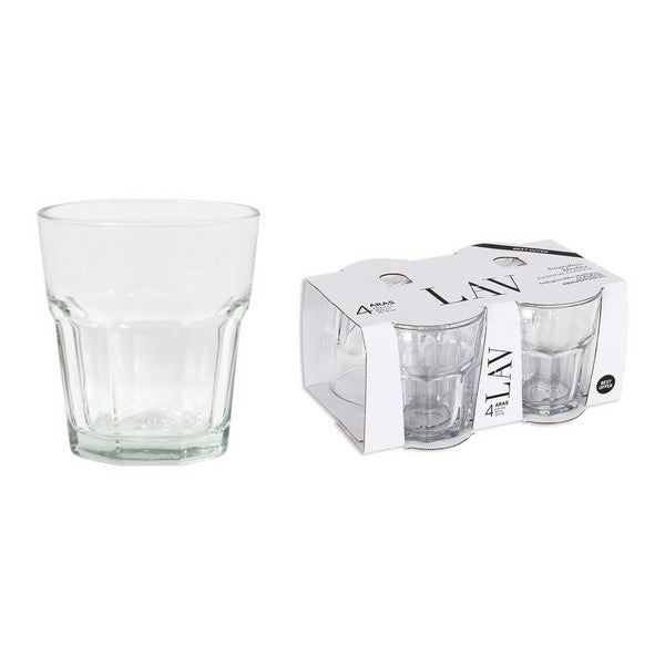 Set of glasses LAV Aras 325 ml Crystal (4 Uds)