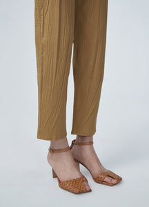 JNBY Wrinkle Effect Tapered Pants