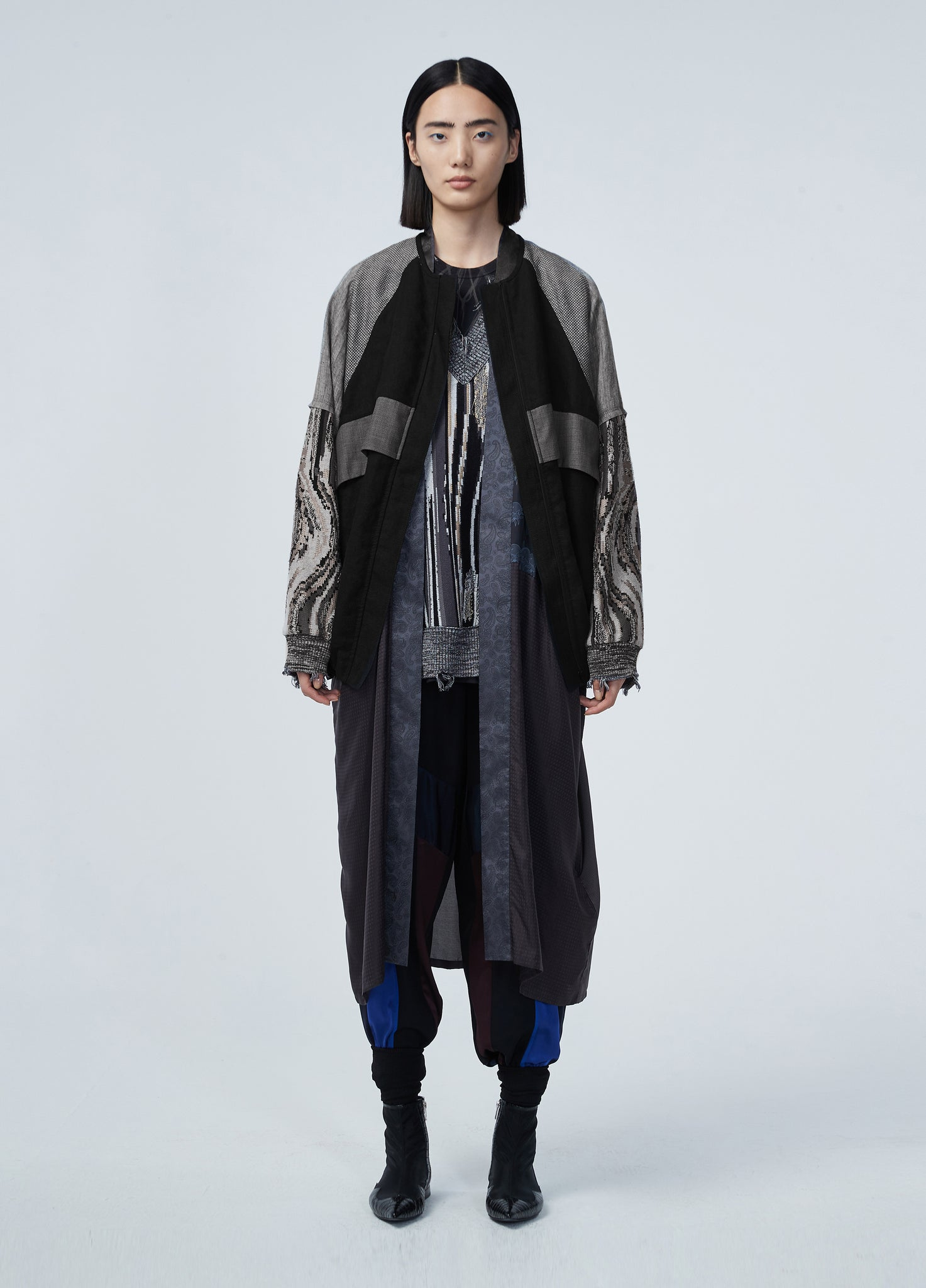 JNBY Oversized Wrap Coat