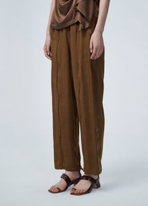 JNBY Full Print Wavy Seamed Pants