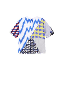 JNBY Print Patchwork Top