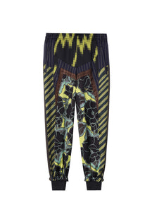 JNBY Full Print Cropped Pants