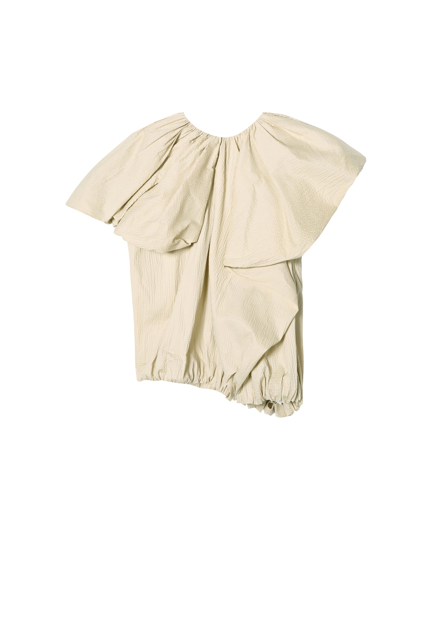 JNBY Ruched Top in Cotton