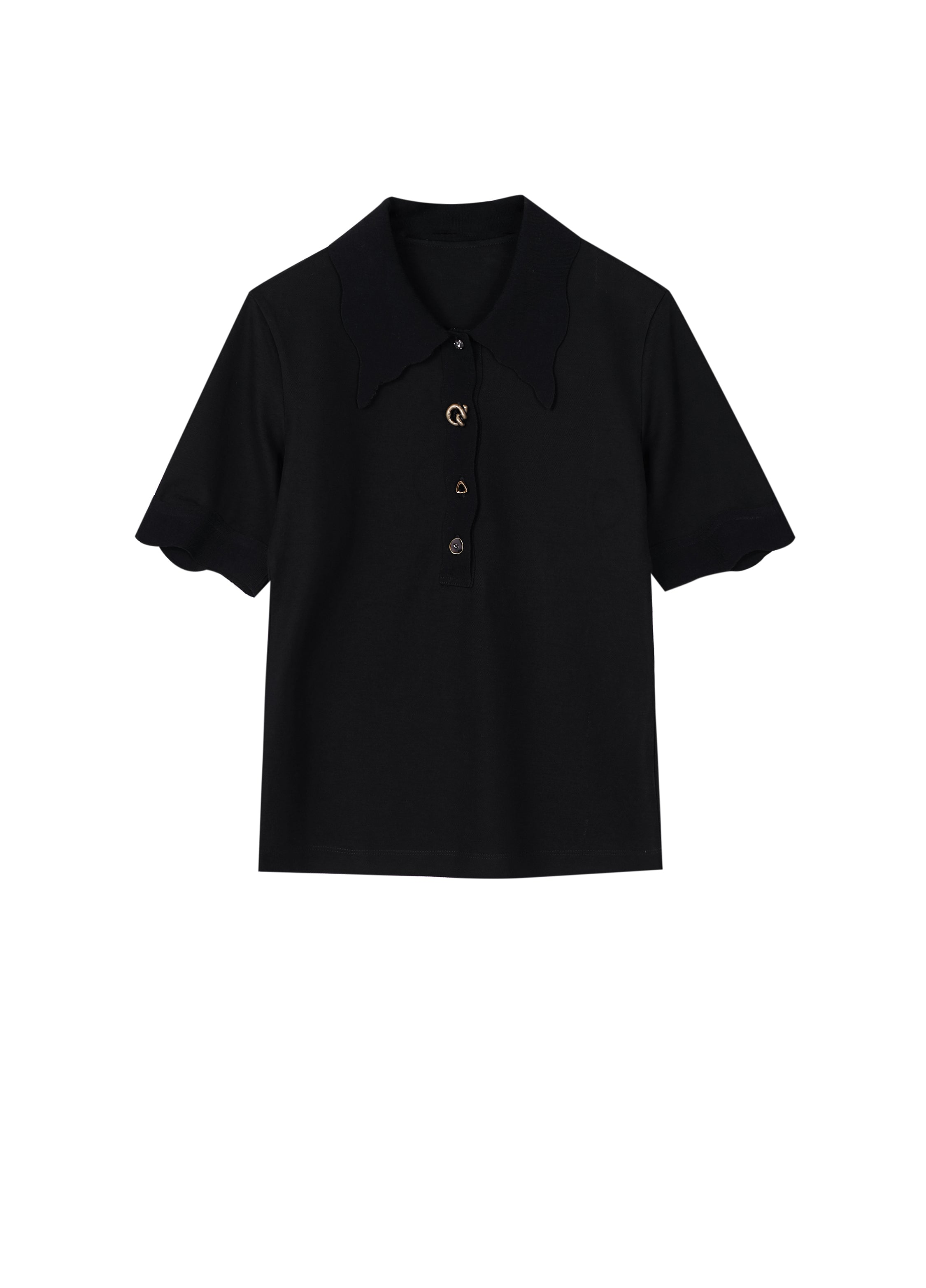 JNBY Wavy Trimmed Slim fit Polo