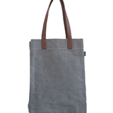 Waxed Ash Canvas Market Tote