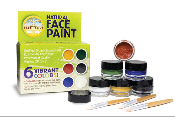 Natural Face Paint Kit 🎨
