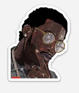 Gucci Mane Sticker
