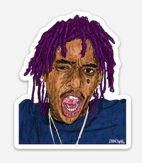 Trap Wiz Sticker