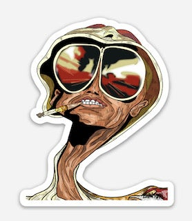 Fear and Loathing In Las Vegas Sticker