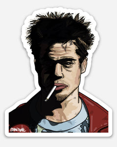Fight Club Sticker