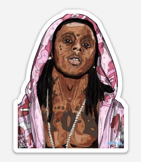 Weezy F Baby Sticker