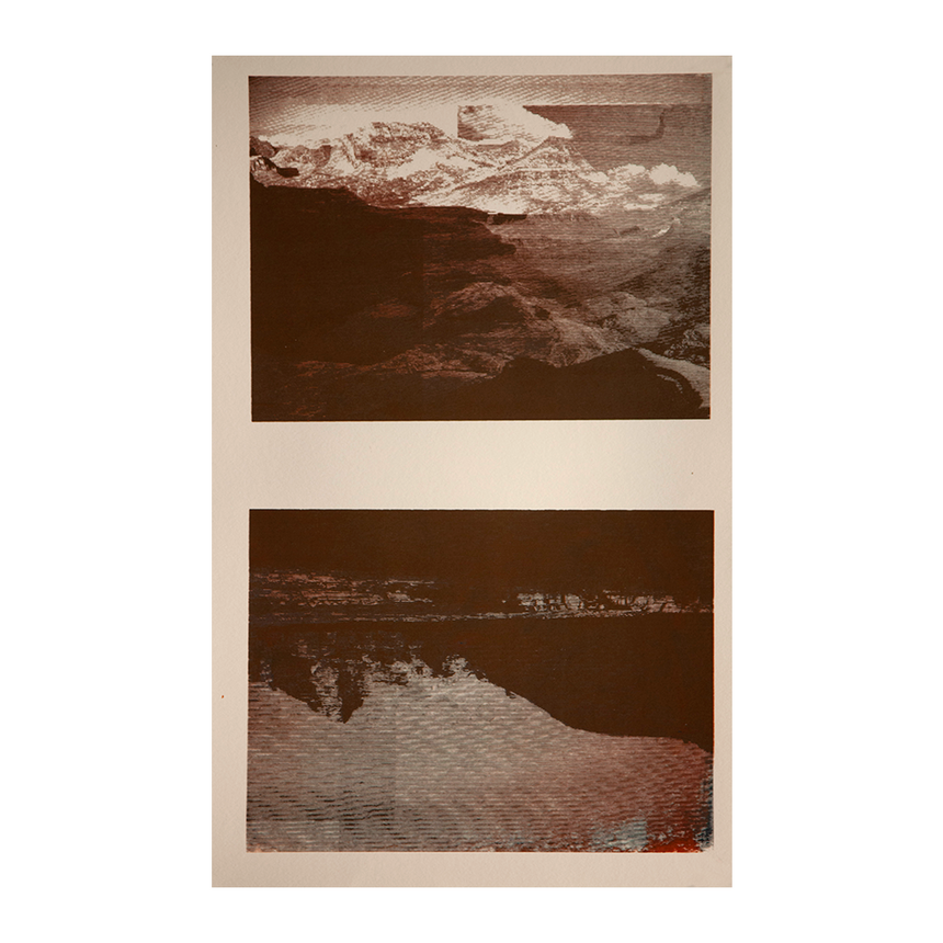 Untitled (Cirque Peak Series) II