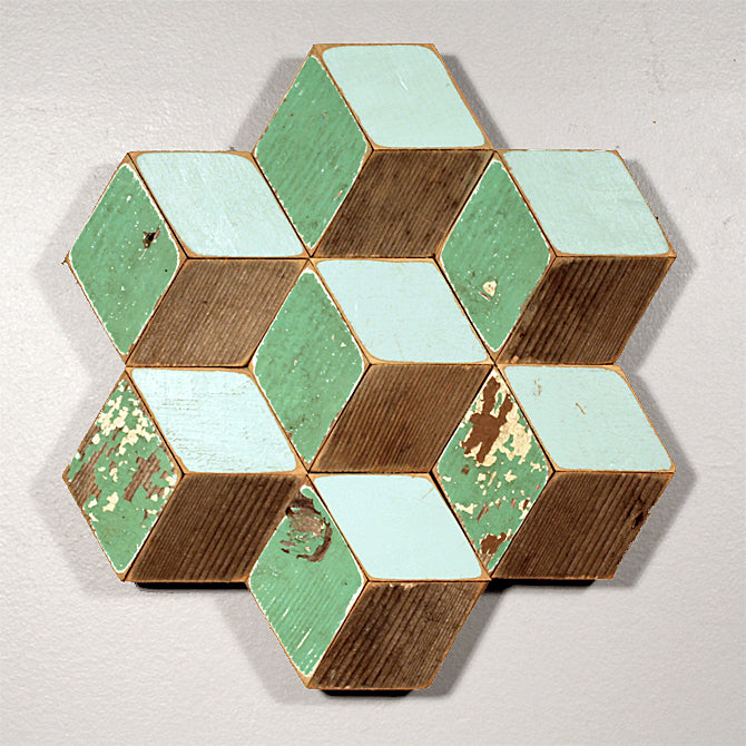 Honeycomb-green