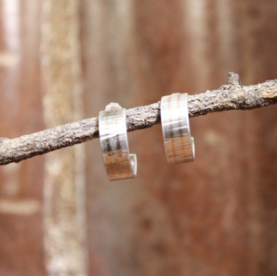 Gold & Silver Cuff Earrings