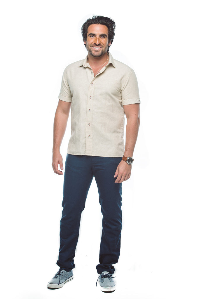 Men's Collared Button Down Shirt