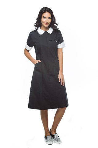 Women's Collared A Line Dress