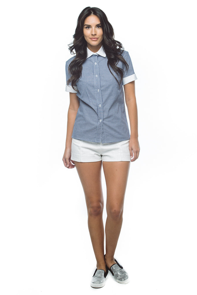 Women's Slim Fit Button Down Shirt
