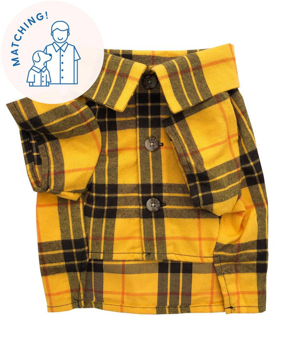 Campfire Flannel for Dogs and Humans All Ages