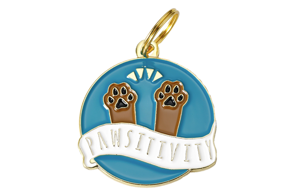 Pet ID Tag - Pawsitivity