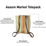Load image into Gallery viewer, Assam Market Totepack Yellow