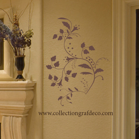 FLOWER BRANCH - WALL STICKERS