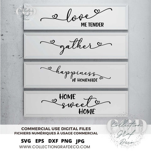 SVG Bundles - No 16 Farmhouse Sign designs, Sign Maker, Quotes for stickers - EPS, DXF, SVG, PNG, JPG