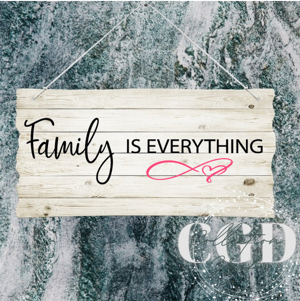 Family is everything - Digital EPS, DXF, SVG, PNG, JPG