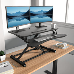 EleTab Standing Desk Converter Series Medium