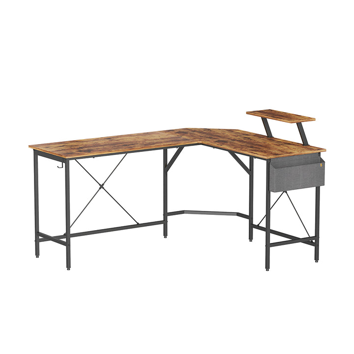Cubiker L-Shaped Desk with Storage Bag