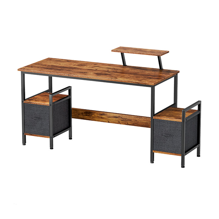CubiCubi Desk Extra Storage Rack and Moveable Shelf