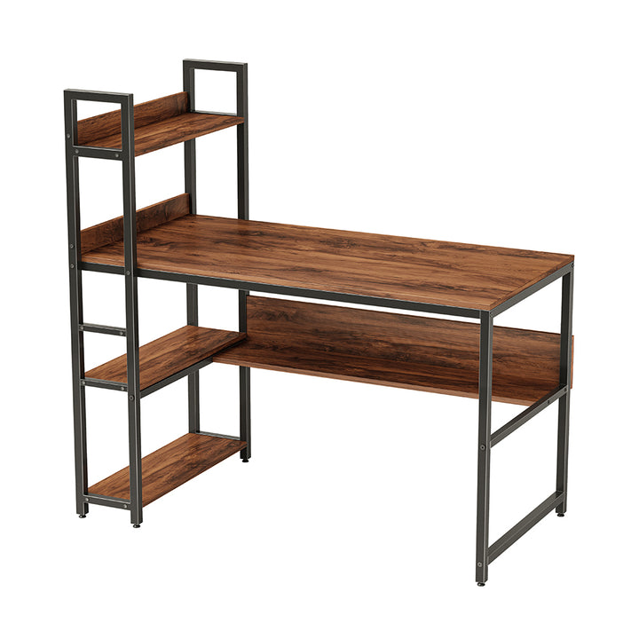 CubiCubi Desk with Tall and Low Shelves