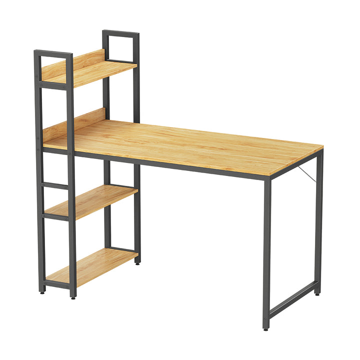 CubiCubi Desk with Tall Shelves