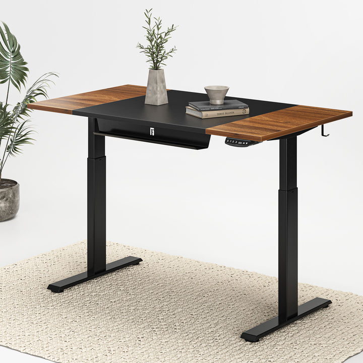 FEZIBO Electric Standing Desk with Pencil Tray