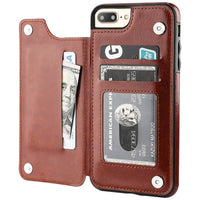 Custodia in pelle flip retro per iPhone | acquista online | Coverx.it