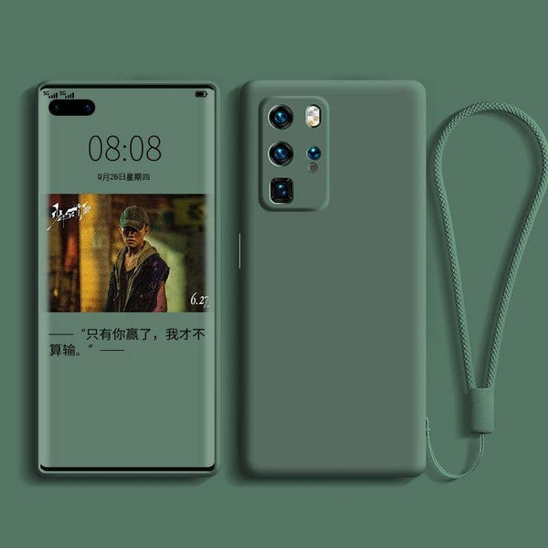 Custodia in silicone liquido per Huawei P40 P30 P20 Lite Pro | Coverx.it