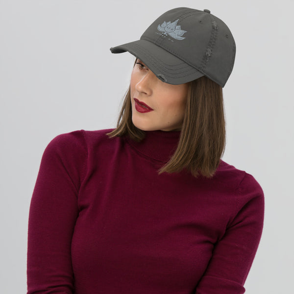 Zen Distressed Dad Hat