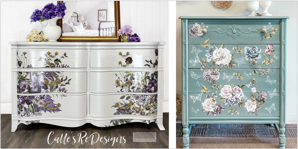 Upcycled vintage cabinets from Little Gems Interiors