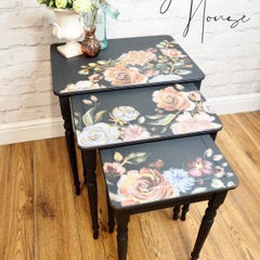 Redesign with Prima - Rouge & Rose Decor Transfer side tables